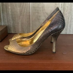 Enzo Angiolini Size 10 Ombre Heels